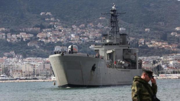 Prohibido navegar cerca de Lesbos