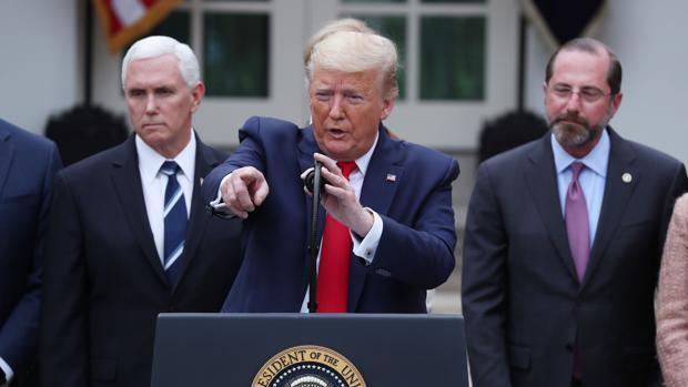 Trump moviliza 50.000 millones de dólares para frenar al coronavirus tras declarar emergencia nacional