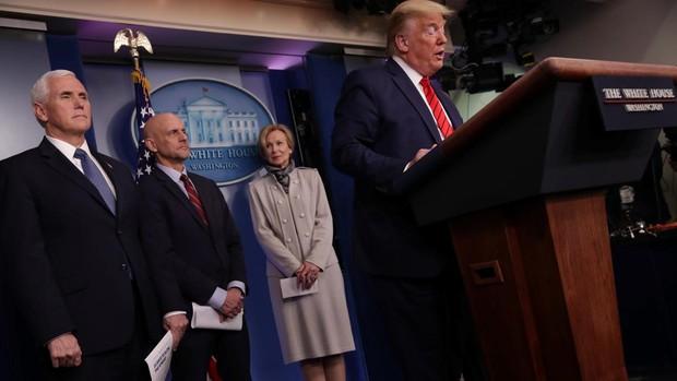 Trump anuncia pruebas inmediatas para tratar el coronavirus con medicamentos para la malaria
