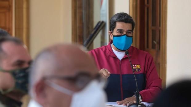 Twitter elimina un mensaje de Maduro en el que señala que el coronavirus es «un arma bioterrorista»