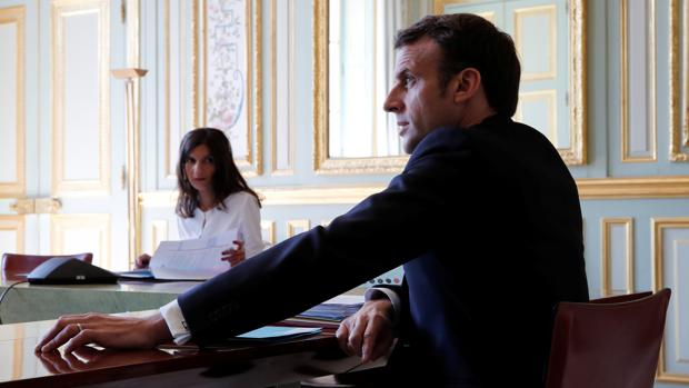 Macron anuncia una «iniciativa importante» con Trump para combatir el coronavirus