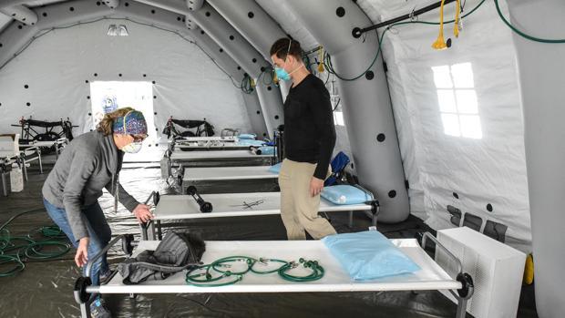 EE.UU. supera los 150.000 casos de coronavirus y el gobernador de Nueva York llama a la unidad