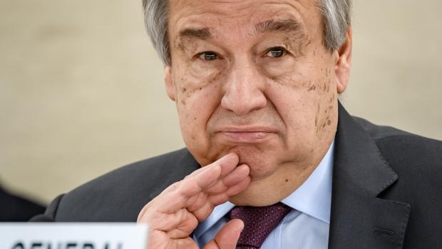 Guterres afirma que el coronavirus es la crisis global «más difícil» desde la Segunda Guerra Mundial