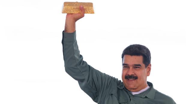 Maduro entrega a Irán toneladas de oro de las reservas de Venezuela