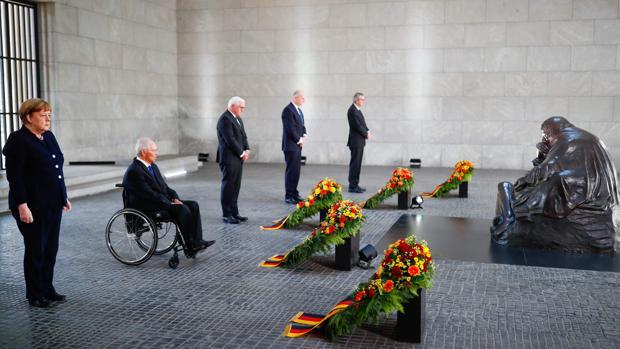 El presidente Steinmeier: «Alemania es un país al que solo se puede amar con el corazón roto»