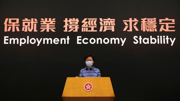 Alta tensión en Hong Kong por la ley de respeto al himno chino