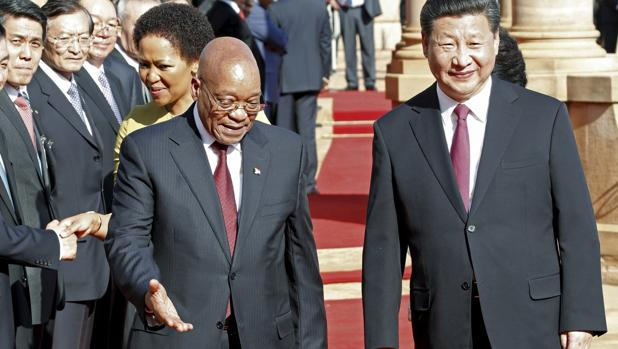 China busca refugio en sus aliados de África tras el Covid-19