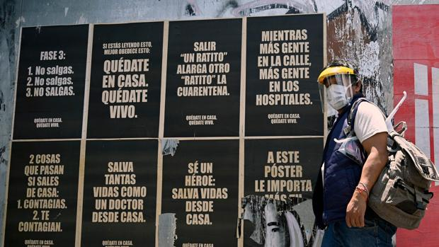 México bate su récord de contagios diarios, con casi 4.000, mientras inicia su vuelta a la normalidad