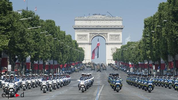 El Desfile del 14 de julio en Francia será sustituido este año por un homenaje a los sanitarios
