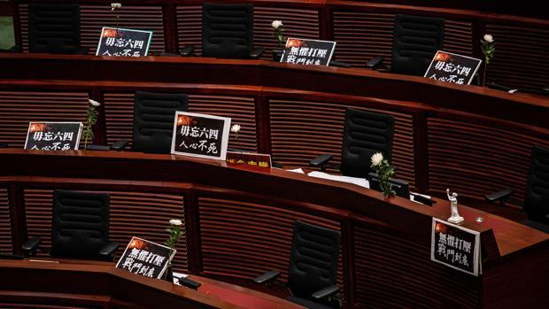 El Parlamento de Hong Kong aprueba la ley que blinda el himno chino en un nuevo pleno polémico