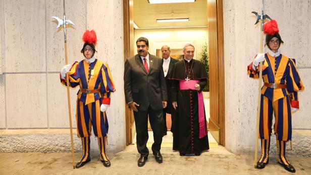 Maduro y sus fracturadas relaciones con la Iglesia
