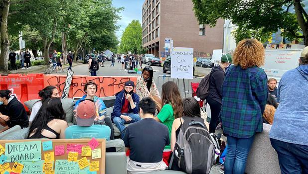 Trump aprovecha el «15M» de Seattle para atacar a los demócratas