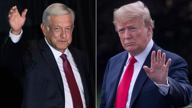 López Obrador visitará a Trump en Washington, su primer viaje fuera de México desde que es presidente
