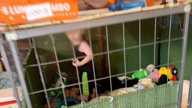 Rescatan a un niño de 18 meses que vivía en una jaula rodeado de más de 600 animales en EE.UU.