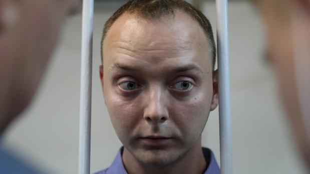 Los servicios secretos rusos detienen por «alta traición» a un periodista acusado de espiar para la OTAN