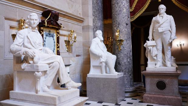 El Congreso de Estados Unidos propone sacar las estatuas confederadas del Capitolio