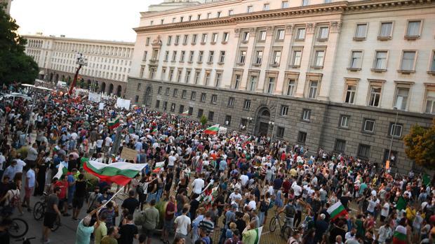 Veintiún días de protestas antigubernamentales en Bulgaria