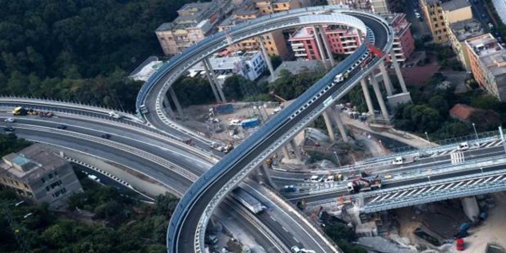 Italia inaugura el nuevo puente de Génova dos años después de desplomarse