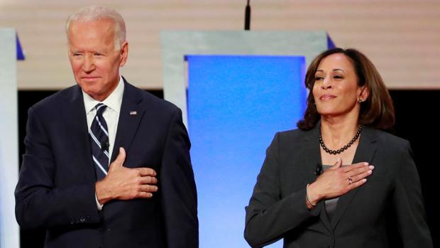 Biden trata de asegurarse con Harris el voto de mujeres y negros