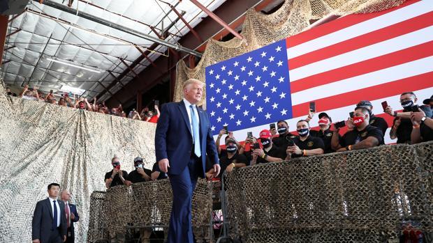 Trump reconoce que el resultado de las elecciones «va a ser ajustado»