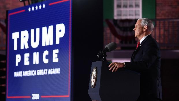 Mike Pence acepta la nominación a vicepresidente del Partido Republicano