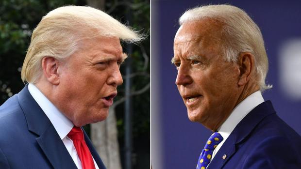 Trump desafía a Biden a hacerse una prueba de drogas antes del primer debate
