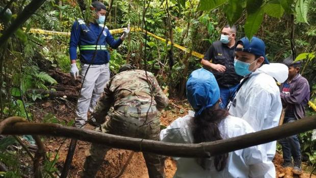 Hallan una fosa común relacionada con sectas religiosas en Panamá