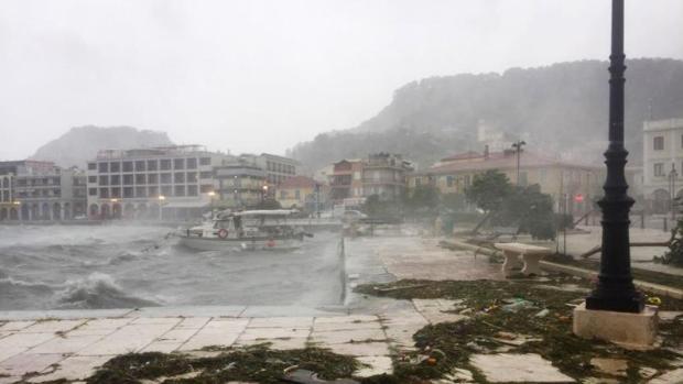 Una fallecida y dos desaparecidos en Grecia por el 'Medicane' Ianós