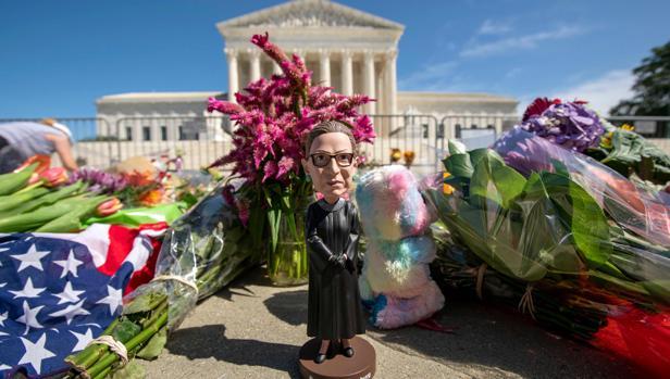 La muerte de la juez Ginsburg sacude la reelección de Trump