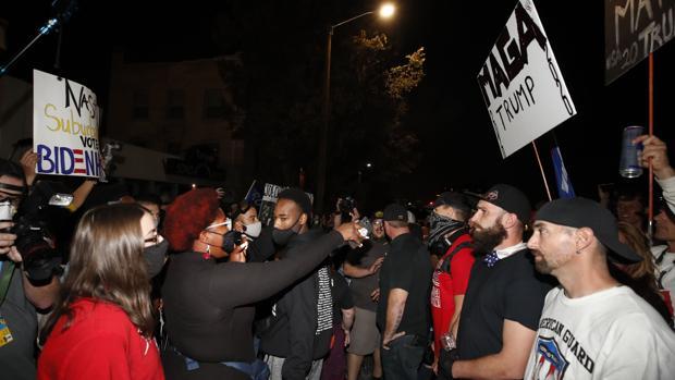 Los Proud Boys, Oath Keepers y los Three Percenters, entre las milicias que han convertido EE.UU. en un polvorín