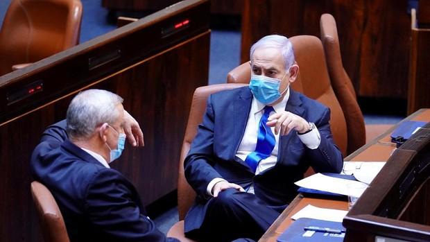 El pulso por el poder entre Gantz y Netanyahu empuja a Israel a las cuartas elecciones en menos de dos años