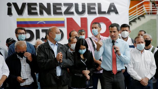 La aplicación para votar en la consulta popular de Guaidó, colapsada