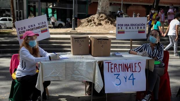La consulta realizada por Guaidó perdió más del 20% de la participación digital por fallos tecnológicos