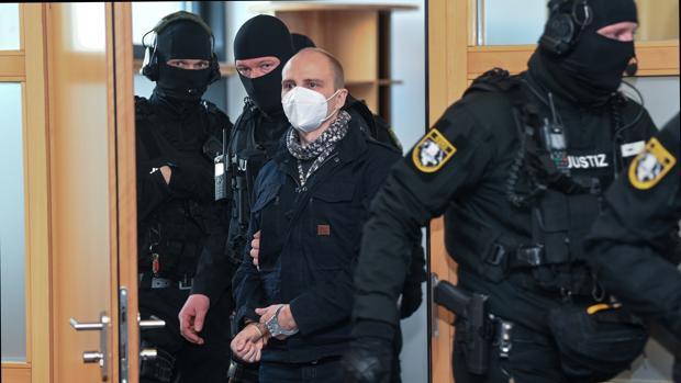 Cadena perpetua para el terrorista antisemita de Halle