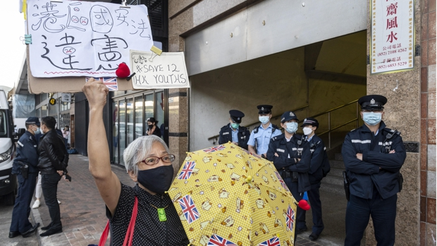 Condenados diez de los doce manifestantes de Hong Kong que intentaron huir a Taiwán