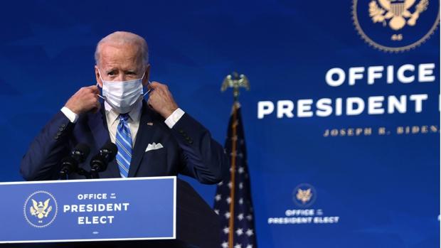 Biden anuncia un paquete de ayudas contra la crisis del coronavirus de 1,9 billones de dólares