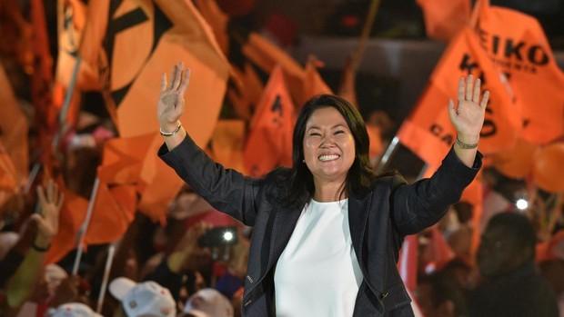 Keiko Fujimori anuncia que indultará a su padre si es elegida presidenta de Perú en las próximas elecciones