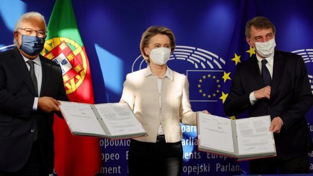 La UE lanza un balón de oxígeno: 240.000 millones de euros hasta 2027