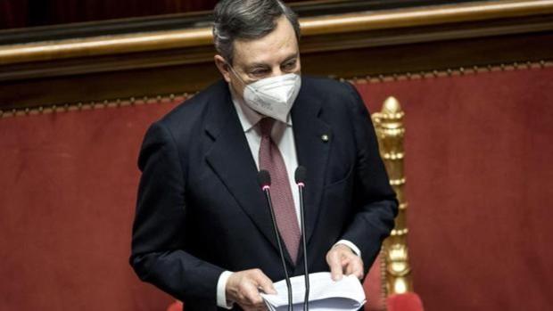 Draghi llama a la unidad de Italia para «una reconstrucción como tras la Segunda Guerra Mundial»