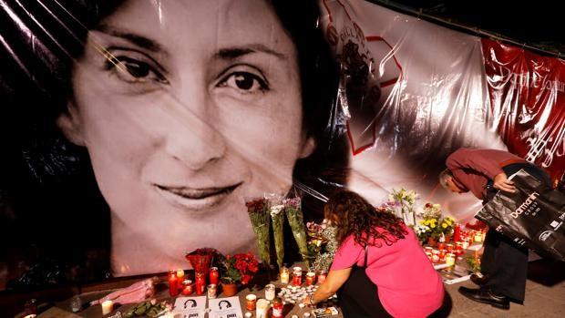 Uno de los tres acusados del asesinato de la periodista maltesa se declara culpable en el juicio