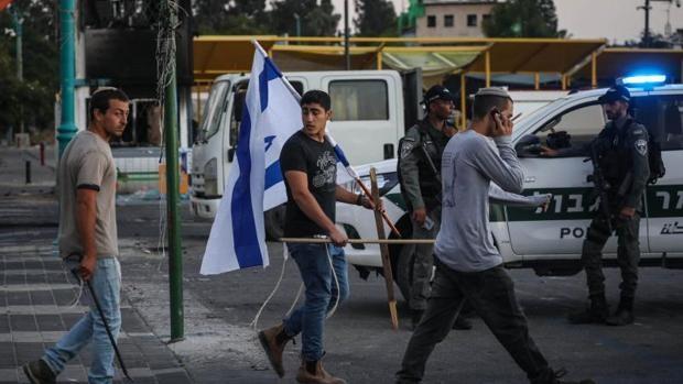 Crece el miedo a una 'guerra civil' en las ciudades mixtas de Israel