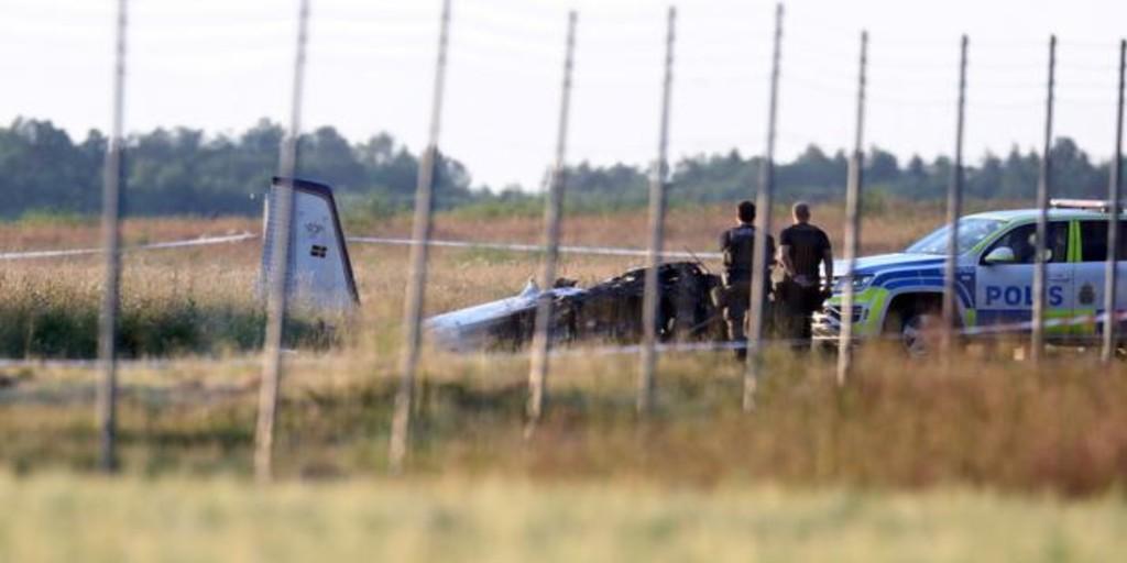 Nueve muertos tras estrellarse una avioneta en el sur de Suecia