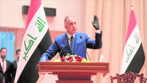 El «premier» iraquí instará hoy a Biden a fijar plazo a la retirada