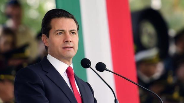 Enrique Peña Nieto, cuando era presidente de México