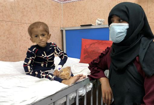 Three-year-old Yousef needs an urgent operation