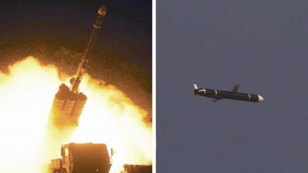 Corea del Norte prueba nuevos misiles de crucero de largo alcance
