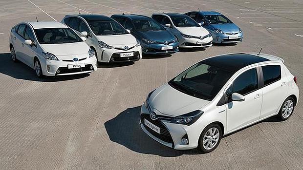 Toyota ofrece la gama de coches híbridos más completa del mercado