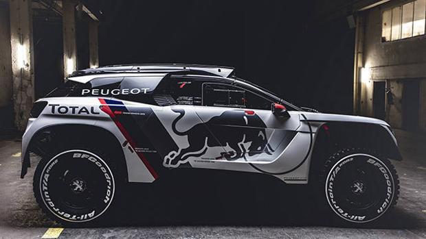 Impresionante imagen del nuevo Peugeot 3008 DKR
