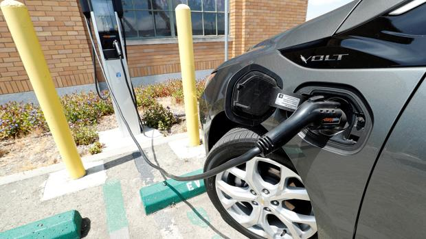 Proceso de recarga de un vehículo eléctrico