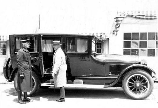 Eric Von Stroheim y Cadillac